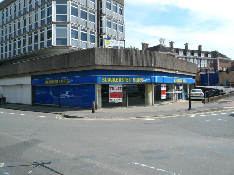 Shop To Rent Shop 3 15 Guildford Road Woking Surrey Gu22