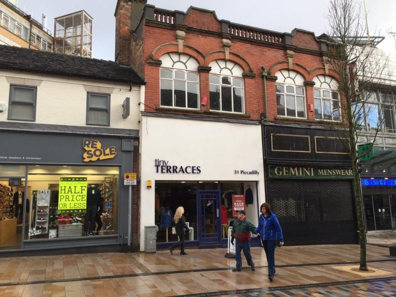 Shop To Rent And Buy 31 Piccadilly Hanley Stoke On Trent Staffordshire St1 1en St1 1en