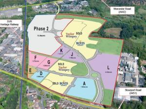 Land in Kidderminster to let Rent land in Kidderminster